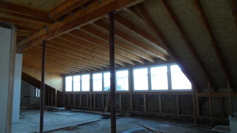 Dachgeschossaufstockung